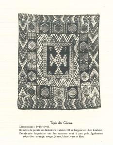 Corpus des tapis-Tapis Glaoua Haut Atlas