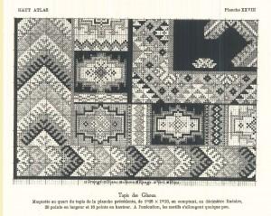 Corpus des tapisPatron tapis glaoua