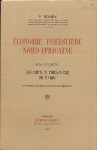 Economie forrestière nord-africaine, T.3-P