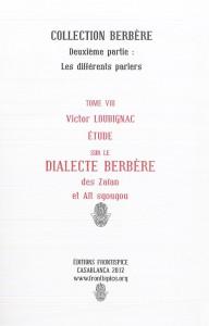 Etude sur le dialecte des Zaian-Loubignac
