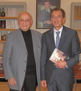Gabriel Banon et Monsieur Amine Sbihi