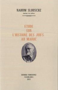 Etude sur l'histoire des Juifs au Maroc-Slouschz