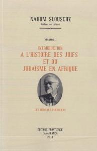 Introduction à l'histoire des Juifs-Slouschz
